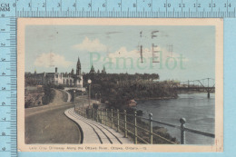 CPSM - Lady Gray Driveway Along The Ottawa River Ontario -  Used In 1947 Stamp  Canada   3¢ - Ontario