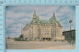 CPSM - Chateau Laurier Ottawa Ontario-  Used In 1954 Stamp  Canada 4¢ Red Killer - Ontario