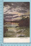 CPa - Bala Falls , Muskoka Ontario Canada, On Warwick Bros Card -  Used In 1909 Stamp  Canada 1¢ - Ontario