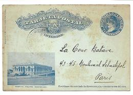 URUGUAY - Carte Postale - Hospital Italiano - MONTEVIDEO - Uruguay