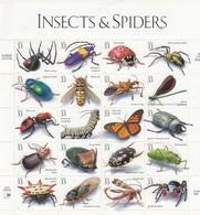 USA - 1998 - SHEET INSECTS & SPIDERS MNH** / TBS2 - Ganze Bögen