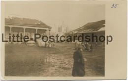 Foto Marktplatz In Koydonow Kirche Russland 1918 Weissrussland Dsjarschynsk Dserschinsk Kojdanów Kojdanau - Guerre 1914-18