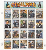 USA - 1994 -  SHEET CIVIL WAR  MNH** / TBS2 - Hojas Completas