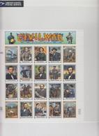 USA - 1994 -  SHEET CIVIL WAR -  / BLISTER  / TBS2 - Ganze Bögen