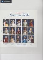 USA - 1996 - SHEET CLASSIC AMERICAN DOLLS / BLISTER  / TBS2 - Ganze Bögen