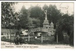 Hoogstraeten, Gezicht Uit Den Hof Van 't Spijker - 1904 - Eigendom L.-V. Hoof-Roelans - 2 Scans - Hoogstraten