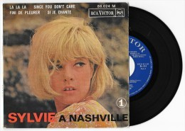 45 T SYLVIE VARTAN A NASHVILLE - Si Je Chante (+ 3) 1964 RCA VICTOR 86.024 M - Other - French Music