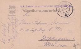 Feldpostkarte - Landsturminfanterieregiment Nr. 51 - 1916 (35640) - 1850-1918 Imperium