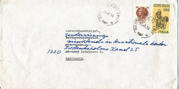 Italy Cover Sent To Denmark Lari 23-7-1979 - 1946-.. République