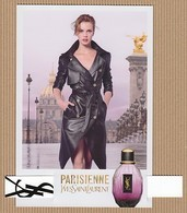 CC Carte Parfumée 'YSL' PARISIENNE Perfume Card JAPAN - Modern (from 1961)