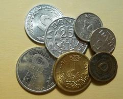 Lot 7 Coins - Monete & Banconote