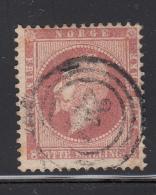 Norway 1856-57 Used Scott #5 8s King Oscar I Cancel: 3-ring 261 Silgjord Or 264 Skien - Norvège