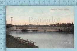 CPA - Aqueduct Welland Ontario Canada, On Valentine Card -  Used In 1908 Stamp  Canada 1¢ - Ontario
