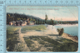 CPA- Hotel Wawa Lake Of Bays District  Ontario  -  Used In 1910  Stamp CND 1¢ - Ontario