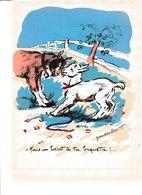 ILLUSTRATEUR GERMAINE BOURET GRAVURES 1940 PLANCHES A DECOUPEES POUR JEUX DE CUBES T B ETAT 2 UNITE X2 - Collezioni