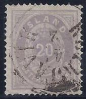 ISLANDIA 1876 - Yvert #10 - FU - 1873-1918 Dependencia Danesa