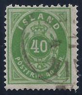 ISLANDIA 1876 - Yvert #11 - VFU - 1873-1918 Dependencia Danesa