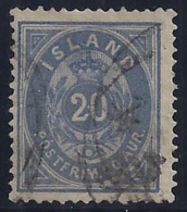 ISLANDIA 1882 - Yvert #14aA - VFU - 1873-1918 Dependencia Danesa