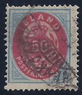 ISLANDIA 1882 - Yvert #16 - VFU - 1873-1918 Dependencia Danesa