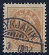 ISLANDIA 1900/02 - Yvert #20 - VFU - 1873-1918 Dependencia Danesa