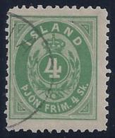 ISLANDIA 1873 - Yvert #51 - VFU - 1873-1918 Dependencia Danesa