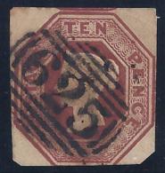 GRAN BRETAÑA 1847/84 - Yvert #6 - VFU - Used Stamps