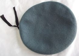 Beret Grey (or Light Blue Color) Plein Ciel - Size 61 - Copricapi