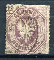 19465) LÜBECK # 14 Gestempelt Aus 1865, 110.- € - Luebeck