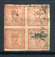 19466) MECKLENBURG-SCHWERIN # 1 Gestempelt Aus 1856, 150.- € - Mecklenburg-Schwerin