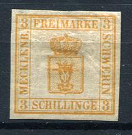 19467) MECKLENBURG-SCHWERIN # 2 Gefalzt Aus 1856, 100.- € - Mecklenburg-Schwerin