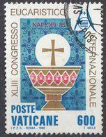 VATICANO - 1985 - Yvert 781 Usato, Come Da Immagine. - Vaticano (Ciudad Del)