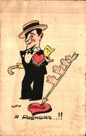 Humour 572 Homme Cannotier, Une Flèche Dans Coeur à Prendre - Humour