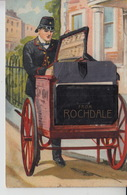 NP79. Novelty Card Rochdale Postal Cart C1900 - Greetings From...