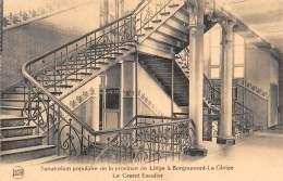 BORGOUMONT-la-GLEIZE - Sanatorium Populaire De La Province De Liège - Le Grand Escalier - Stoumont