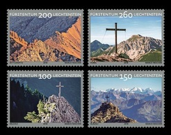 Liechtenstein 2018 Mih. 1902/05 SEPAC. Spectacular Views. Summit Crosses. Mountains MNH ** - Liechtenstein