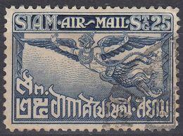 SIAM - 1925 - Posta Aerea Yvert 6 Obliterato, Come Da Immagine. - Siam