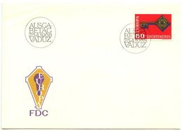 Liechtenstein 1968 Scott 442 FDC Europa - FDC
