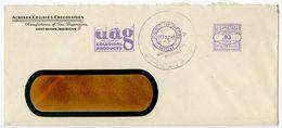 United States 1947 Cover Port Huron, Michigan - Acheson Colloids Corporation W/ PB Meter - Brieven En Documenten