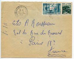 Tunisia 1959 Cover Hammam To Paris France W/ Scott 242 & 350 - Tunisia