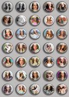 Alessandra Ambrosio Movie Film Fan ART BADGE BUTTON PIN SET (1inch/25mm Diameter) 35 DIFF - Films