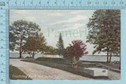 CPA - Couchiching Beach Park, Orillia Ontario, Mac Farlane Card-  Used In 1908  Stamp CND 1¢ - Ontario