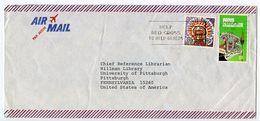 Papua New Guinea 1981 Airmail Cover Boroko To Pittsburgh PA W/ Scott 448 & 497 - Papoea-Nieuw-Guinea