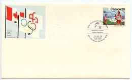 Canada 1976 Summer Olympic Games Modern Pentathlon Cover W/ Scott 682 - Summer 1976: Montreal