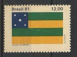LSJP BRAZIL FLAG OF THE STATE OF SERGIPE 1981 - Brazil