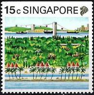 Singapore 1990 - Sentosa Island ( Mi 599D - YT 578a ) MNH** - Singapour (1959-...)