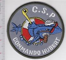 France Navy Commando Hubert Marine Plongeurs De Combat Et Para CDO Naval Hubert - Patches