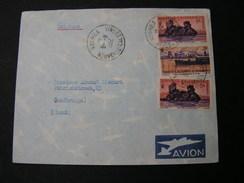 Neukaledonien Cv. Noumea 1952 - Brieven En Documenten