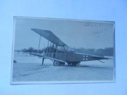 PHOTO CARTE AVION ALLEMAND - Weltkrieg 1914-18
