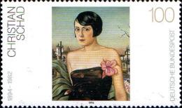 RFA Poste N** Yv:1578/1580 Yv:9 Euro Peintres Allemands 20.Siècle Schad Heckel & Münter - [7] Federal Republic