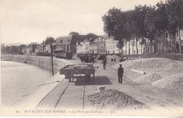 LALI- SAINT VALERY SUR SOMME  LE PORT  AUX  CAILLOUX - Saint Valery Sur Somme